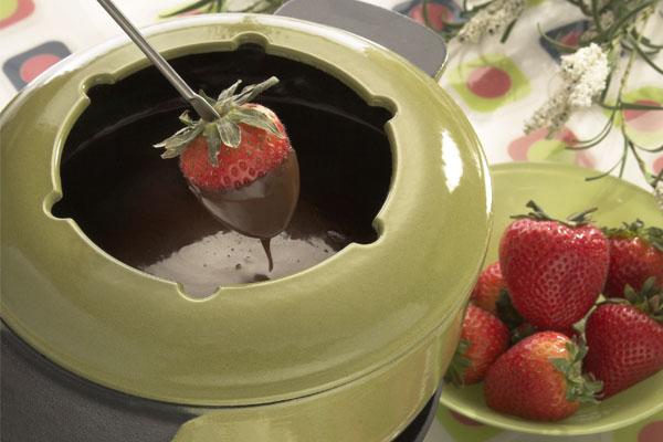 صلصة الشوكولاتة الساخنة