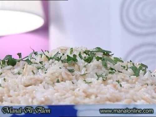 الأرز بلسان العصفور