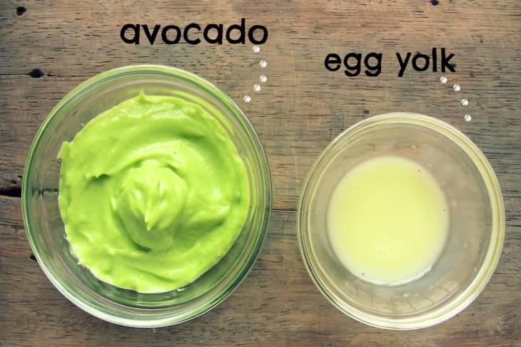 هل جربتي خليط الافوكادو وصفار البيض من قبل؟