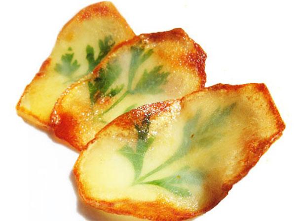 شرائح البطاطس بشكل جديد ومبتكر
