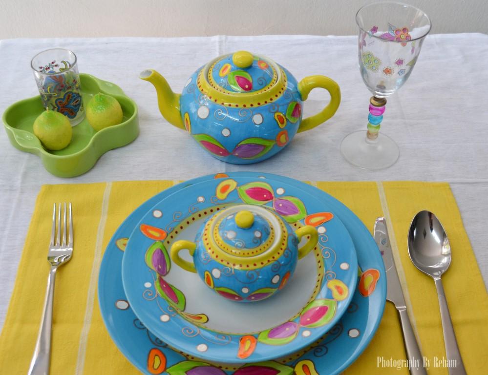 فن تزيين المائدة - 1 رمضان 2013