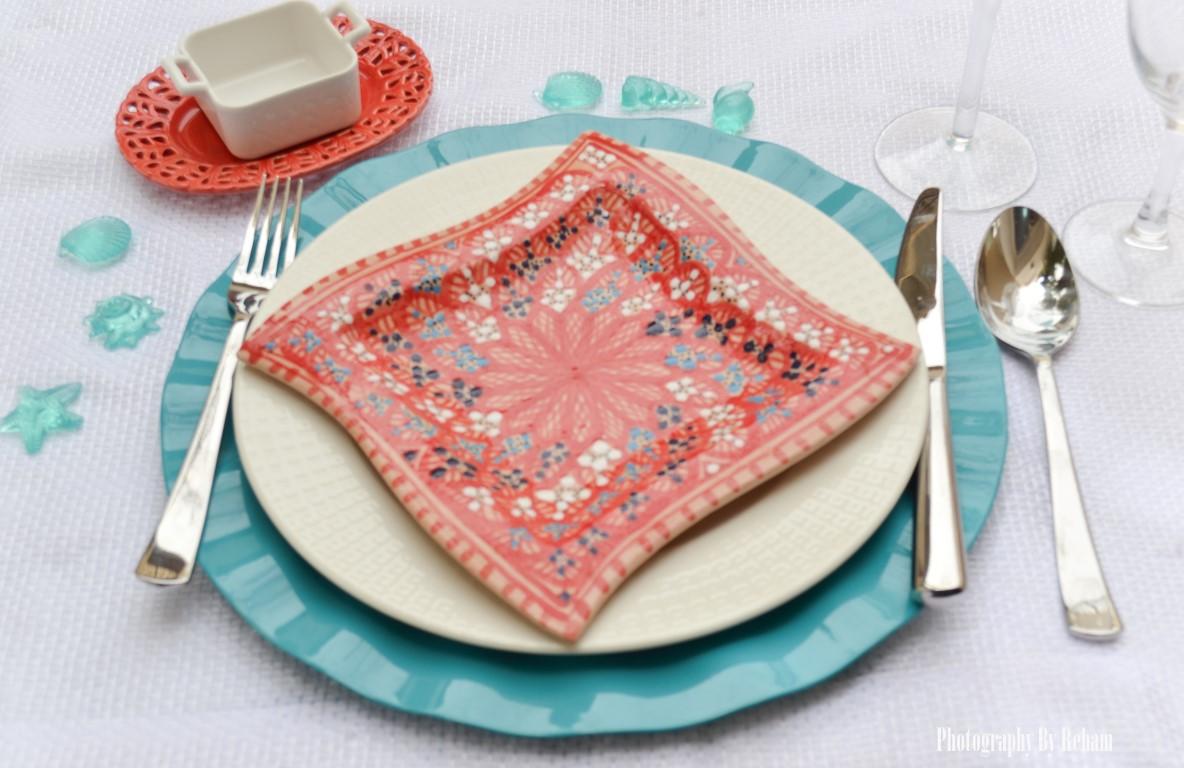 فن تزيين المائدة - 15 رمضان 2013