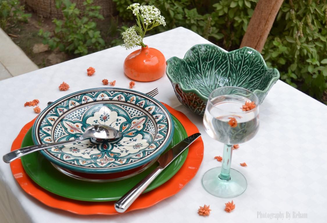 فن تزيين المائدة - 18 مطبخ منال العالم رمضان 2013