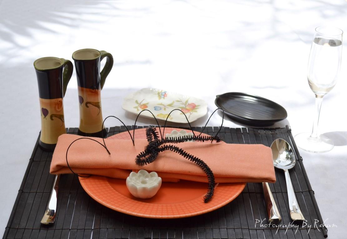 فن تزيين المائدة - 21 مطبخ منال العالم رمضان 2013