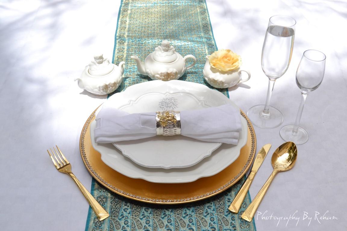 فن تزيين المائدة - 25 مطبخ منال العالم رمضان 2013