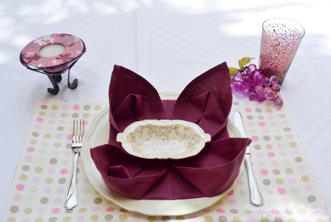 فن تزيين المائدة - 26 مطبخ منال العالم رمضان 2013
