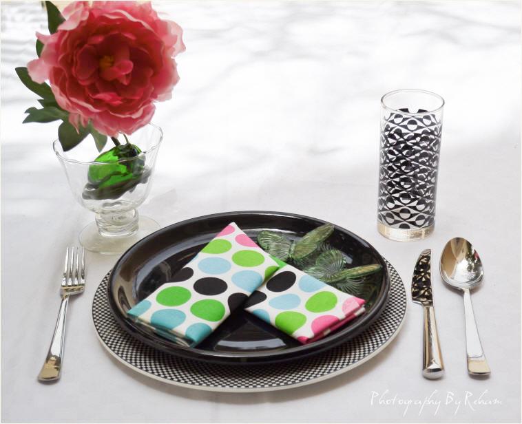 فن تزيين المائدة - 27 مطبخ منال العالم رمضان 2013