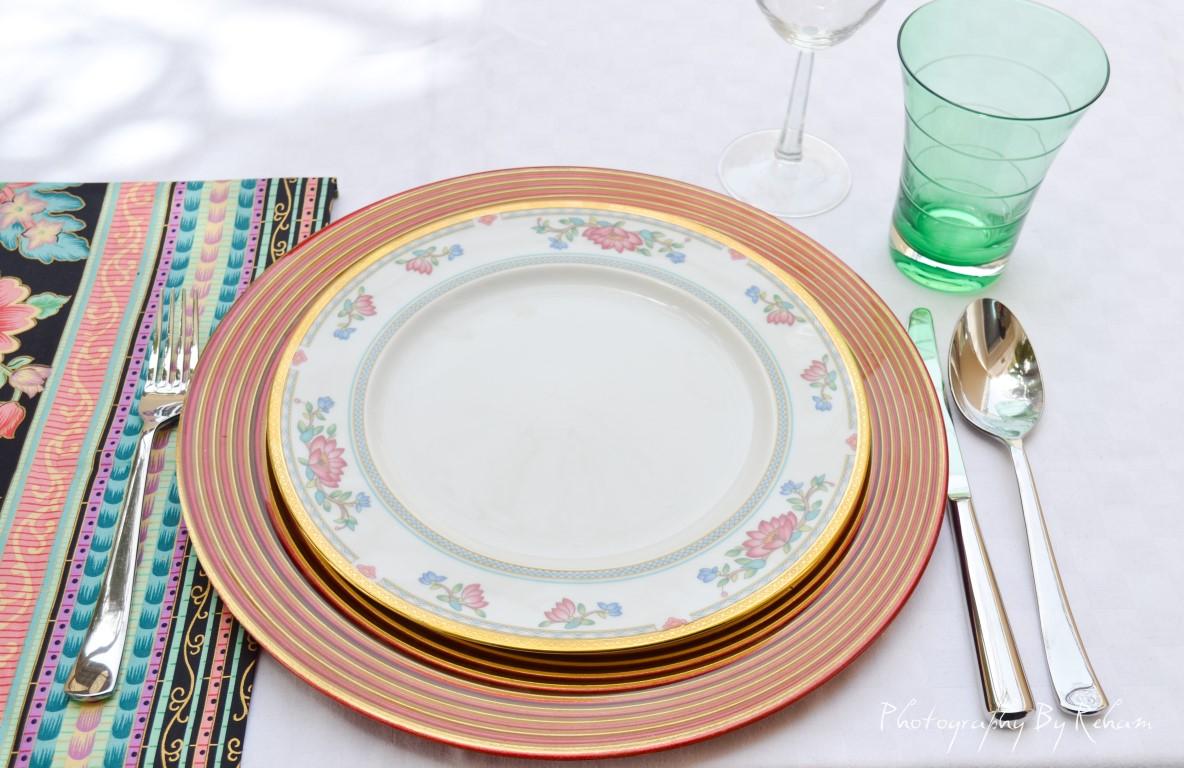 فن تزيين المائدة - 32 مطبخ منال العالم