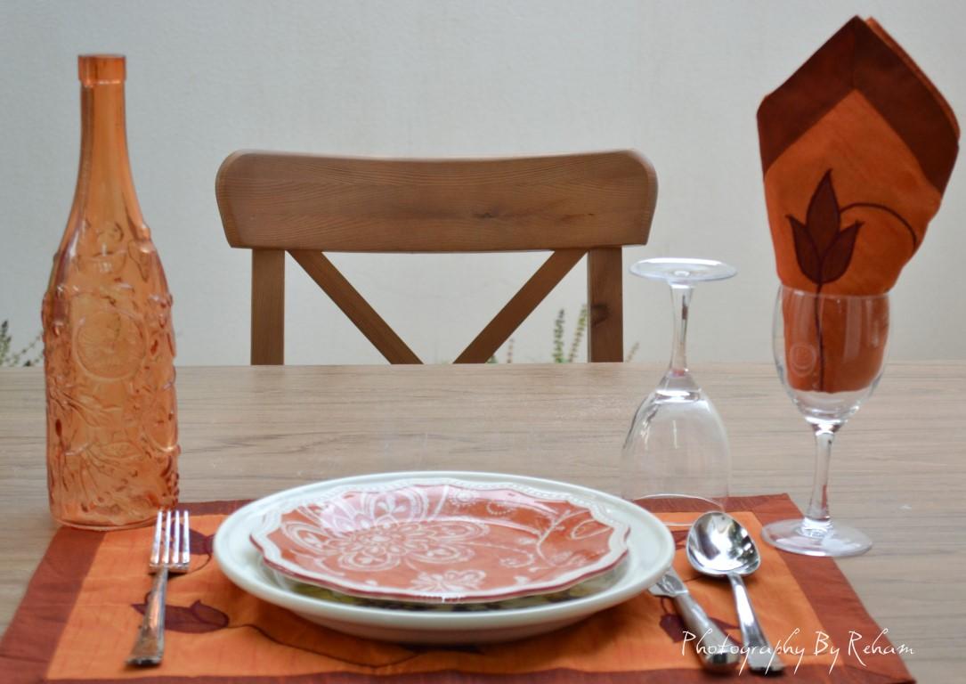 فن تزيين المائدة - 33 مطبخ منال العالم