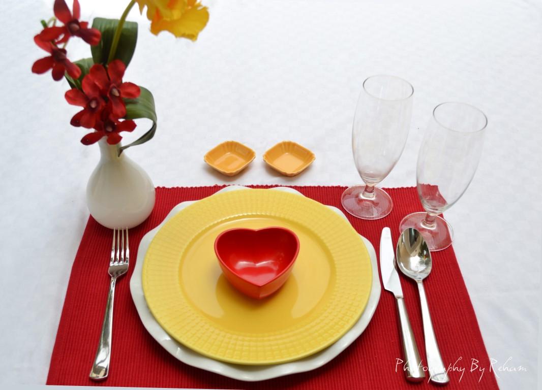 فن تزيين المائدة - 35 مطبخ منال العالم