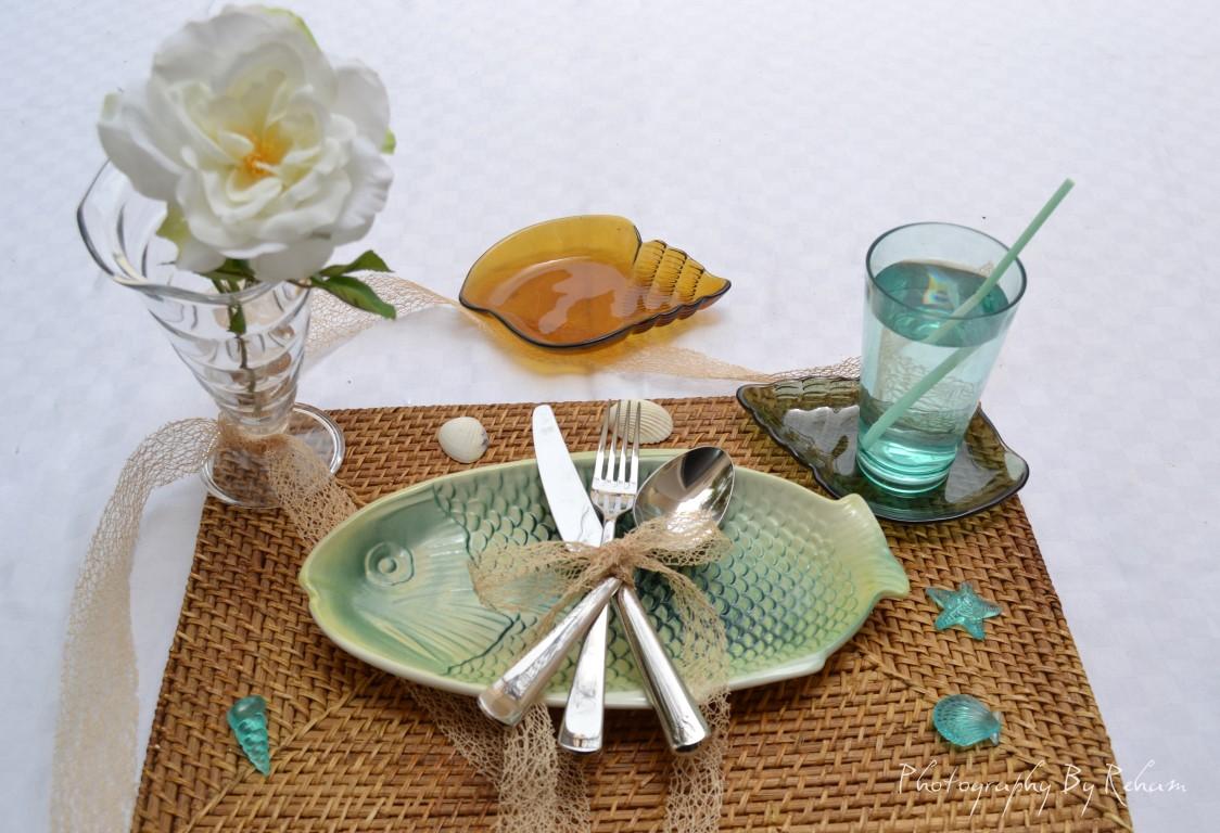فن تزيين المائدة - 38 مطبخ منال العالم