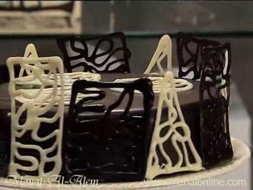 فن الشوكولاتة 4-2-2011
