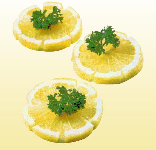 شرائح الليمون