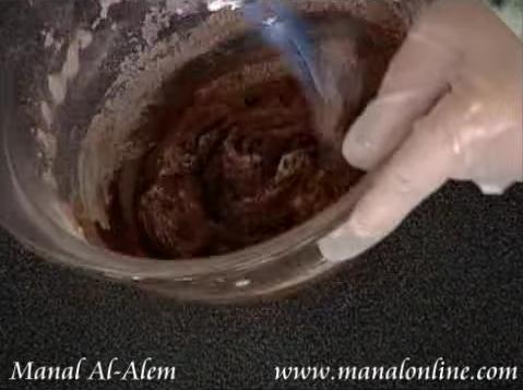 طريقة عمل صلصة الشوكولاتة