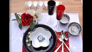 فن تزيين المائدة - 6 مطبخ منال العالم رمضان 2013