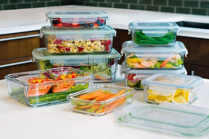 تخزين الطعام في المنزل