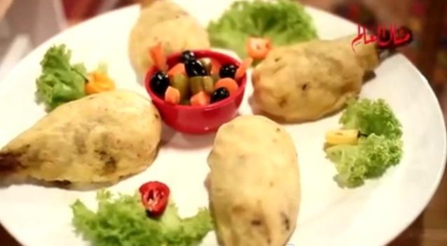موزات الغنم بالبطاطس البيورية - وصفة مختصرة