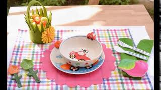 فن تزيين المائدة - 12 مطبخ منال العالم رمضان 2013