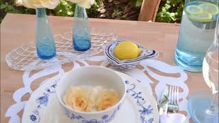 فن تزيين المائدة - 13 مطبخ منال العالم رمضان 2013